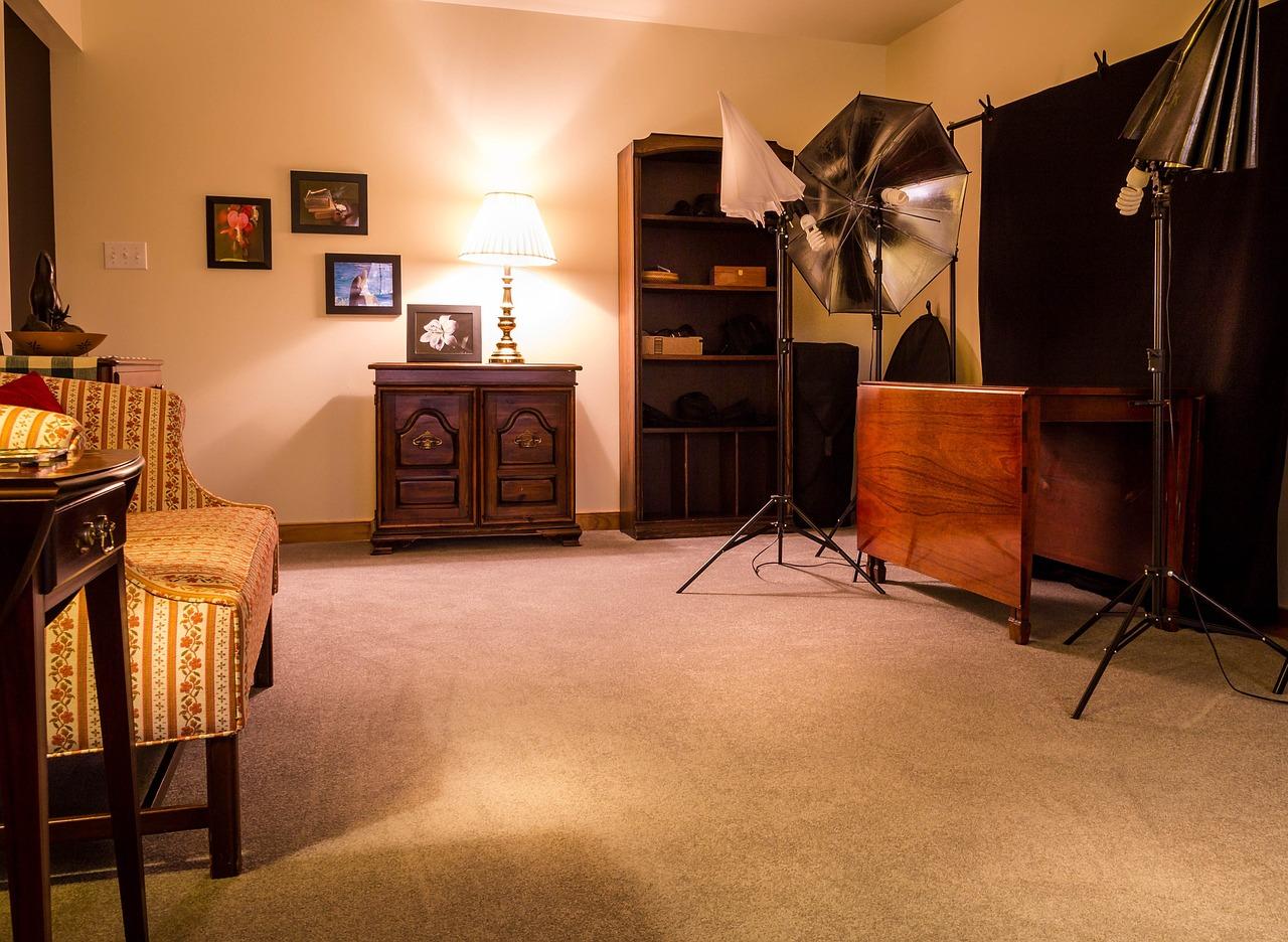 Schlingen- und Wollteppichboden im Zuhause